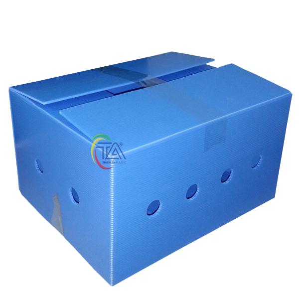 Thùng Nhựa Danpla TA05 Không Nẹp , Không Góc