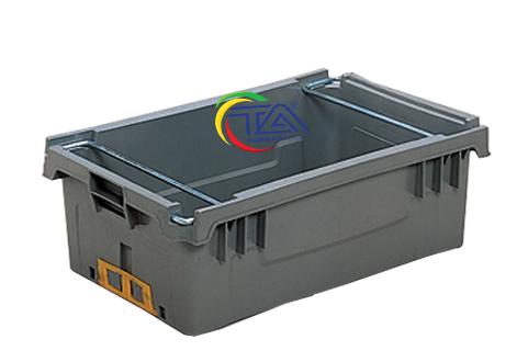 Thùng Nhựa Quai Sắt NTB208-TA KT:500x330x200mm