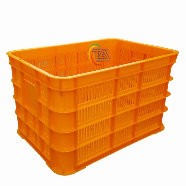 Thùng Nhựa Rỗng HS012 KT: 505x350x310mm