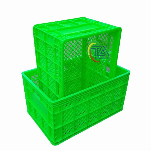 Thùng Nhựa Rỗng HS013 KT: 560x375x300mm