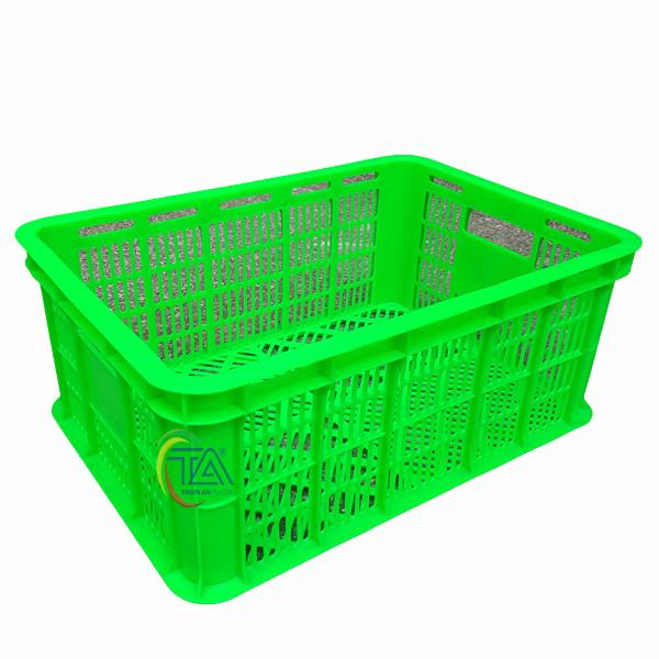 Thùng Nhựa Rỗng HS018 KT: 525x370x215mm