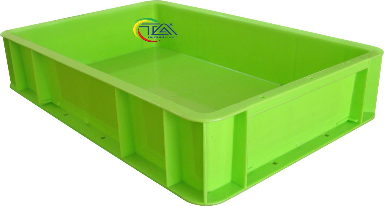 Thùng Nhựa TTA-341 KT:500x330x100mm